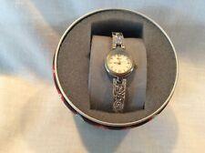Relic Women's Quartz Silver Dress Watch water resistant in box small wrist