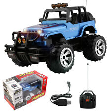 1/16 RC Car 2.4G Remote Control Jeep Off-Road Vehicle Light Sound Kids Toy Gift