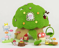 Sylvanian Families Calico Critters Baby Tree-house & Fairy Collection