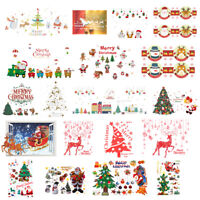Merry Christmas Tree Removable Decal Art Mural Wall Sticker Home Room DIY Decor