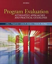 Program Evaluation 4e Global Edition