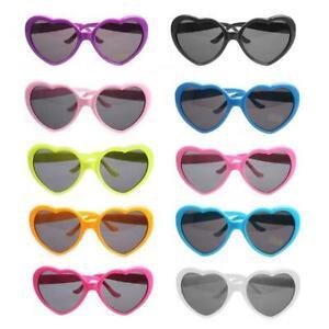 Kids Heart Shaped Sunglasses Girls Children Baby Summer Pink White Black UV400