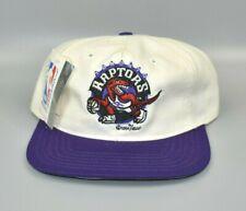 Toronto Raptors NBA Vintage 90's Twins Enterprise Adjustable Snapback Cap Hat