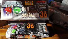 Action Ken Schrader #36 M & M / Halloween 2001 Grand Prix Clear Window Bank 1:24