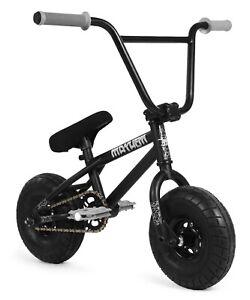 """Mayhem Riot Mini 10"""" BMX Bicycle Freestyle Tire Bike Black Widow NEW"""