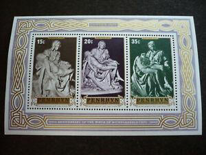 Stamps - Penrhyn - Scott# 78a - Souvenir Sheet