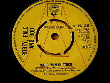 """ROBEY FALK and BOD - MAGIC WOMAN TOUCH     7"""" VINYL PROMO"""