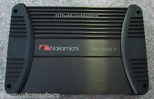 Nakamichi NK-300.1 Car Audio Subwoofer Amplifier 1000W Mono 1CH Bass Speaker Amp