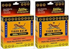 Tiger Balm Ultra Strength Pain Relieving Ointment 50gm - 1.7 OZ  ( 2 pack )