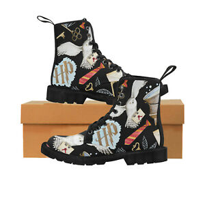 Wizard Fashion Shoes Lace Up Boots For Women, Wizard, Muggle, Festival