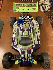 Tornado Bb Red Cat Racing 1/10 Scale Brush-less Rc Off-Road Buggy -45 mph!