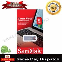 NEW SanDisk 8/16/32/64 GB Cruzer Force USB Flash Drive Memory Stick High Speed