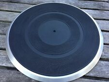 Pioneer PL-400 Turntable Cast Aluminum Platter PNR-115 and Rubber MAT