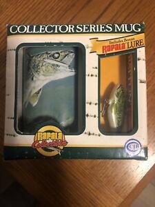 RAPALA Collectibles Collector Series Mug + Bonus Lure Walleye Version NEW