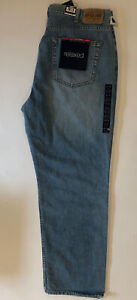 """Gap Men's Zip Fly Royal Wash relaxed Jeans 38"""" x 30"""" New Tags"""