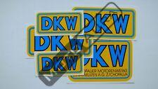 5 x Wasser Abziehbilder DKW LUXUS 100 125 175 200 250 350 350-1 500 NZ