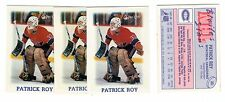 1X PATRICK ROY 1988 89 O Pee Chee Mini #33 NRMT OPC Canadiens Lots Available