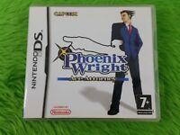 ds ACE ATTORNEY Phoenix Wright Game Lite DSi 3DS Nintendo REGION FREE PAL UK