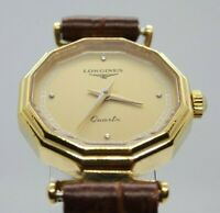 Longines Vintage ladies watch Quartz Octagon shape very rare