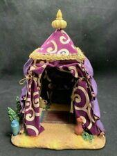 "Fontanini Heirloom Roman King Melchior'S Tent W/ Mat For 5"" Village Retired"
