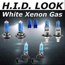 H7 H1 H8 501 55w White Xenon HID Look High Low Fog Beam Headlight Bulb Pack