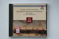 G.P. Telemann - Recorder Sonatas & Fantasias-Bruggen