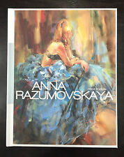 Anna Razumovskaya First Edition Art Book, Dedicated and Signed by Artist
