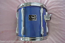 """ADD this PEARL EXPORT SERIES 10"""" BLUE RACK TOM to YOUR DRUM SET TODAY! LOT #T707"""
