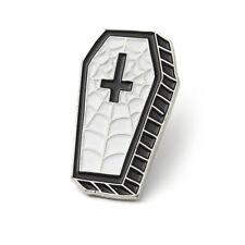 Pin Gothic Brooch Killstar Coffin Enamel Vampire Cercueil Pin's Broche Gothique