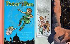 Robert Sabuda SIGNED & LINED~Peter Pan~ Pop-Up Book~RARE 1st/1st!!