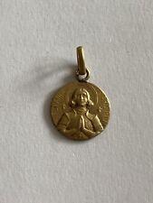 Médaille Médaillon Jeanne D'arc Avec Poinçon