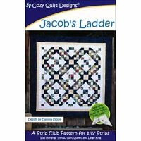 Jacob's Ladder Quilt Pattern by Cozy Quilt Designs