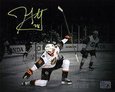 John Scott Signed Autographed 2016 NHL All-Star Goal Celebration Spotlight 8x10