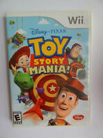 Toy Story Mania Game in Case! Nintendo Wii