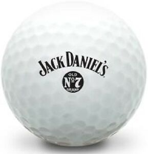 (36) Callaway Mix Mint AAAAA (Classic Jack Daniels Alcohol LOGO) Golf Balls