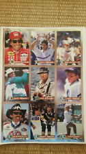 LEGENDS SPORTS MAGAZINE UNCUT 9 PLAYER SHEET FOIL CARDS Ted Williams