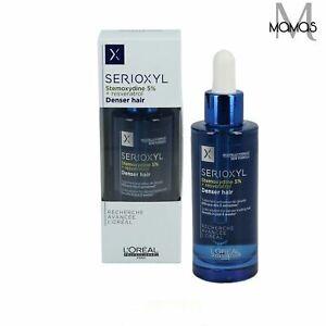 L'Oreal Serioxyl Denser Hair Serum Stemoxydine 5% + Resveratol,3.04 oz FAST SHIP