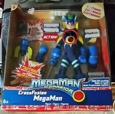 Mega Man NT Warrior Cross Fusion Figure Mattel  English Speaking BRAND NEW