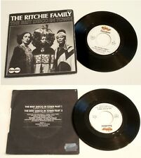 "THE RITCHIE  FAMILY ""  THE BEST DISCO IN TOWN  ""  1976 . carabine records  VG+"