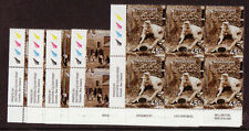 NEW ZEALAND 2006 GOLD RUSH PLATE BLOCKS UNMOUNTED MINT