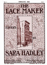 Sara Hadley #1.02, February, 1903 Teneriffe Lace Making
