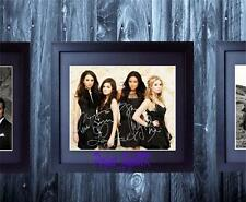Pretty Little Liars All 4 Cast Members SIGNED & FRAMED 10x8 REPRO PHOTO PRINT