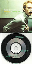 TEDDY THOMPSON Wake up w/RADIO EDIT Made in Europe PROMO DJ CD single Richard