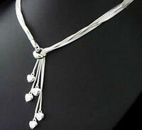 Fashion wedding silver Pretty Charm women cute pendant Necklace jewelry nice