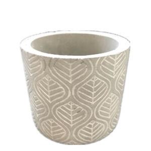Cement Pot Molds Handmade Silicone Planter Mould for Concrete Cement Vase