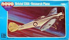 1/72 NOVO F165 Bristol 138A Research Plane Model Kit Sealed Bags FREE SHIP