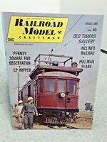 Railroad Model Craftsman Magazine August 1968 Z N HO S O G vintage
