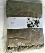 New Wool Cashmere Blanket Throw Bocasa by Biederlack 51 x 67 Inch Brown Italy