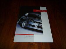 Opel Astra IRMSCHER Prospekt 02/2004