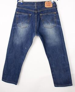 Levi's Strauss & Co Hommes 505 04 Droit Jambe Slim Jean Taille W36 L34 BDZ185